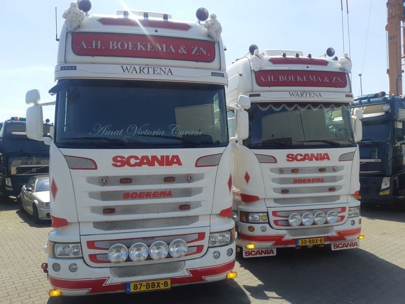 tracteur routier Scania 2 x R450 Streamline