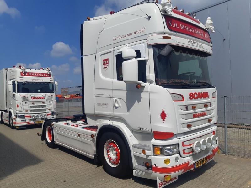tracteur routier Scania R450 Topline