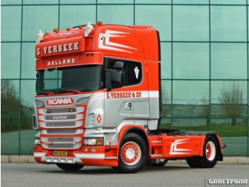Tracteur routier Scania R500 V8 EURO 5 - KING OF THE ROAD - RETARDER