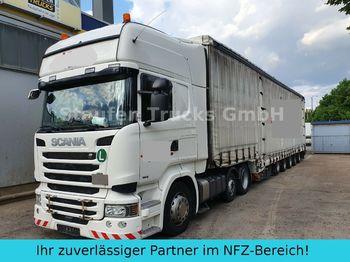 Tracteur routier Scania R 490 6X2  DINKEL 5-Achs Maschin/Schwerlast ZUG!