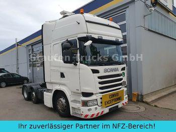 Tracteur routier Scania R 490 Topline 6X2 Vorlaufa. LOW EURO 6 Schwerlas