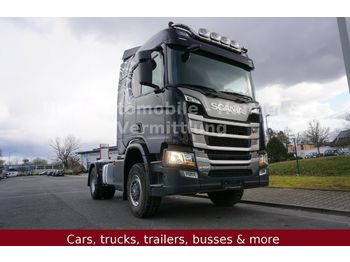 Tracteur routier Scania R 500 HighLine 4X4 BL *E6/Retarder/Hydraulik/TOP