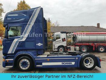 Tracteur routier Scania R 500  TOPLINE LOW MEGA deutsch. Auto TOP- Zust.