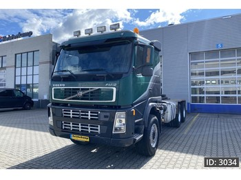 Tracteur routier Volvo FM12 420 Sleeper Cab, Euro 4, // Full Steel // 6x6 // Big Axle // Manual // Good condition