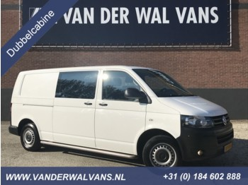 Fourgon Volkswagen Transporter 2.0TDI 102pk L2H1 Dubbele Cabine Airco, Cruise, trekhaak .