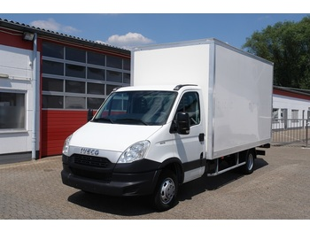 Fourgon grand volume Iveco Daily 35C13 EURO5/Koffer 4,20m/LBW/Klima / TÜV!