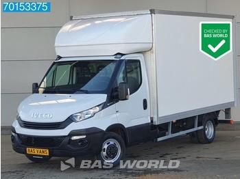 Fourgon grand volume Iveco Daily 35C16 160pk Bakwagen Laadklep Zijdeur Meubelbak Cruise Airco A/C Cruise control