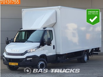 Fourgon grand volume Iveco Daily 70C18 Euro6 Automaat Bakwagen Laadklep Koffer LBW Luchtvering A/C Cruise control