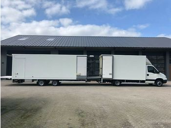 Fourgon grand volume Iveco Iveco Daily 40C18 minisattel combi 10000 kg