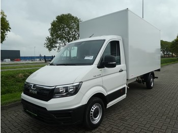Fourgon grand volume MAN TGE 3.140 bakwagen + laadklep