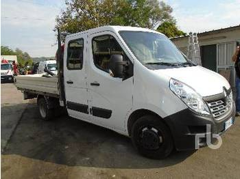 RENAULT MASTER Crew Cab - fourgon plateau