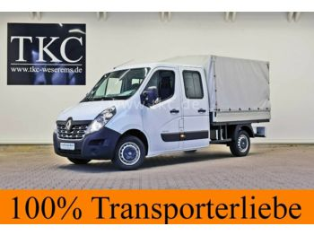 Fourgon plateau Renault Master dCi 125 Pritsche Doppelkabine A/C #29T048