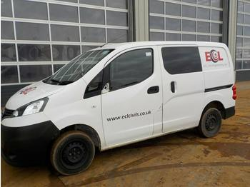 2015 Nissan NV200 - fourgon utilitaire
