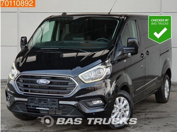 Fourgon utilitaire Ford Transit Custom 2.0 TDCI 130PK Limited DC Camera Navigatie Automaat 320 L2H1 4m3 A/C Double cabin Towbar Cruise control