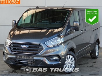 Ford Transit Custom 2.0 TDCI Nieuw 320 Automaat LIMITED Navi Camera L2H1 4A/C Double cabin Towbar Cruise control - fourgon utilitaire