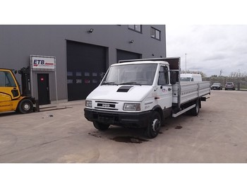 Iveco turbo Daily 59 - 12 (SUSPENSION LAMES / STEEL SUSPENSION) - utilitaire plateau