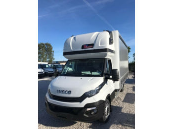 Iveco Daily 180 10PAL Schlafkabine, AHK, Tachograpf  - utilitaire plateau baché