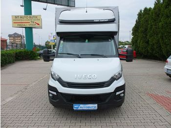 Utilitaire rideaux coulissants (plsc) Iveco Daily Fahrgestell Einzelkabine 35 S ... Radstand
