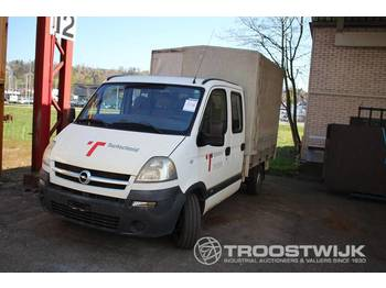 Opel Movano 25 TDHB35/35 - utilitaire rideaux coulissants (plsc)